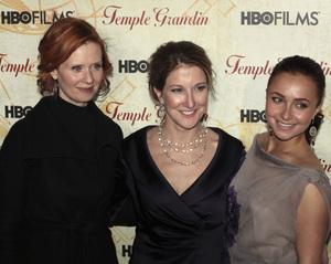"""Temple Grandin"" PremiereCynthia Nixon, Emily Gerson Saines, Hayden Panettiere1-26-2010 / Time Warner Center / New York NY / HBO Films / Photo by Cecelia Post - Image 23870_0081"
