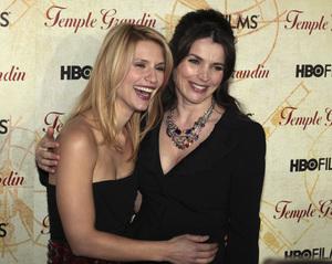 """Temple Grandin"" PremiereClaire Danes, Julia Ormand1-26-2010 / Time Warner Center / New York NY / HBO Films / Photo by Cecelia Post - Image 23870_0095"