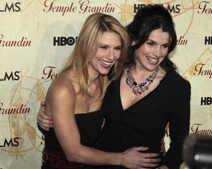 """Temple Grandin"" PremiereClaire Danes, Julia Ormand1-26-2010 / Time Warner Center / New York NY / HBO Films / Photo by Cecelia Post - Image 23870_0096"