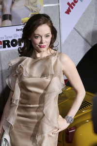 """When in Rome"" PremiereRose McGowan1-27-2010 / El Capitan Theater / Hollywood CA / Touchstone Pictures / Photo by Heather Hixon - Image 23871_0071"