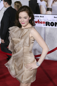 """When in Rome"" PremiereRose McGowan1-27-2010 / El Capitan Theater / Hollywood CA / Touchstone Pictures / Photo by Heather Hixon - Image 23871_0081"