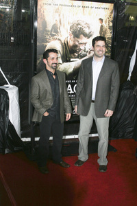 """The Pacific"" PremiereJames Madio, Ron Livingston2-24-2010 / Grauman"