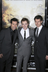 """The Pacific"" PremiereJon Seda, Joe Mazzello, James Badge Dale2-24-2010 / Grauman"