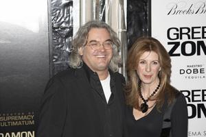 """Green Zone"" PremierePaul Greengrass with wife Joanna2-25-2010 / AMC Loews Lincoln Square / New York NY / Universal Studios / Photo by Theresa Raffetto - Image 23886_0049"