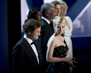 """""""The Academy Awards - 82nd Annual"""" (Telecast)Colin Firth, Carey Mulligan3-7-2010Photo by Matt Petit © 2010 A.M.P.A.S. - Image 23908_0009"""