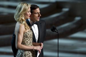 """The Academy Awards - 82nd Annual"" (Telecast)Cameron Diaz, Steve Carell3-7-2010Photo by Matt Petit © 2010 A.M.P.A.S. - Image 23908_0014"