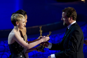 """The Academy Awards - 82nd Annual"" (Telecast)Carey Mulligan, Joachim Back3-7-2010Photo by Matt Petit © 2010 A.M.P.A.S. - Image 23908_0025"