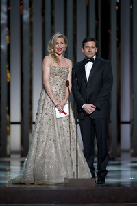 Academy Award presenters Cameron Diaz and Steve Carell during the 82nd Annual Academy Awards at the Kodak Theatre in Hollywood, CA, on Sunday, March 7, 2010. - Image 23908_0036