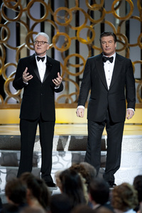 """""""The Academy Awards - 82nd Annual"""" (Telecast)Steve Martin, Alec Baldwin3-7-2010Photo by Michael Yada © 2010 A.M.P.A.S. - Image 23908_0037"""