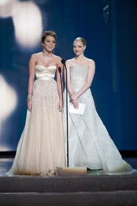 """The Academy Awards - 82nd Annual"" (Telecast)Miley Cyrus, Amanda Seyfried3-7-2010Photo by Matt Petit © 2010 A.M.P.A.S. - Image 23908_0038"