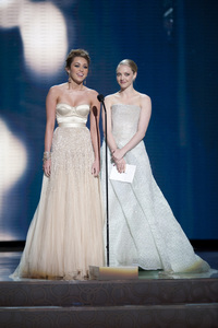 """The Academy Awards - 82nd Annual"" (Telecast)Miley Cyrus, Amanda Seyfried3-7-2010Photo by Matt Petit © 2010 A.M.P.A.S. - Image 23908_0038"