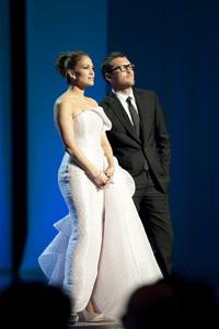 """The Academy Awards - 82nd Annual"" (Telecast)Jennifer Lopez, Sam Worthington3-7-2010Photo by Michael Yada © 2010 A.M.P.A.S. - Image 23908_0057"