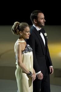 """The Academy Awards - 82nd Annual"" (Telecast)Sarah Jessica Parker, Tom Ford3-7-2010Photo by Matt Petit © 2010 A.M.P.A.S. - Image 23908_0066"