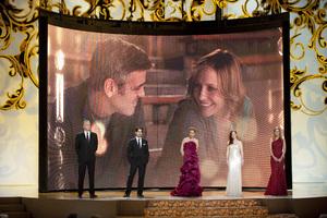 """The Academy Awards - 82nd Annual"" (Telecast) Tim Robbins, Colin Firth, Vera Farmiga, Julianne Moore, Michelle Pfeiffer 3-7-2010 Photo by Michael Yada © 2010 A.M.P.A.S. - Image 23908_0109"