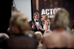 """""""The Academy Awards - 82nd Annual"""" (Telecast)Jeff Bridges, Kate Winslet3-7-2010Photo by Richard Harbaugh © 2010 A.M.P.A.S. - Image 23908_0139"""