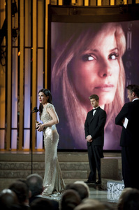 """""""The Academy Awards - 82nd Annual"""" (Telecast)Sandra Bullock3-7-2010Photo by Richard Harbaugh © 2010 A.M.P.A.S. - Image 23908_0144"""