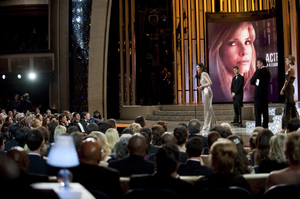 """""""The Academy Awards - 82nd Annual"""" (Telecast)Sandra Bullock3-7-2010Photo by Richard Harbaugh © 2010 A.M.P.A.S. - Image 23908_0145"""