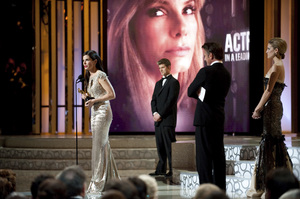 """""""The Academy Awards - 82nd Annual"""" (Telecast)Sandra Bullock3-7-2010Photo by Richard Harbaugh © 2010 A.M.P.A.S. - Image 23908_0146"""