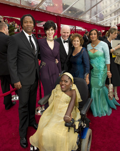 """The Academy Awards - 82nd Annual"" (Arrivals)Roger Ross Williams, Lesley Goldwasser, Prudence Malbhena, Geeta Gandbhir3-7-2010Photo by Richard Harbaugh © 2010 A.M.P.A.S. - Image 23908_0161"