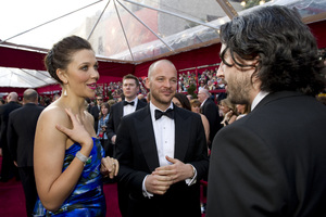 """""""The Academy Awards - 82nd Annual"""" (Arrivals)Maggie Gyllenhaal, Peter Sarsgaard3-7-2010Photo by Richard Harbaugh © 2010 A.M.P.A.S. - Image 23908_0180"""