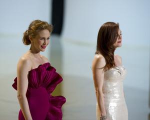 """The Academy Awards - 82nd Annual"" (Telecast)Vera Farmiga, Julianne Moore3-7-2010Photo by Matt Petit © 2010 A.M.P.A.S. - Image 23908_0276"