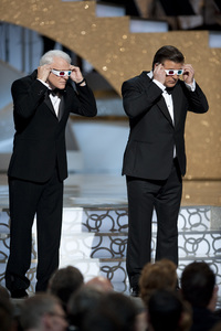 """""""The Academy Awards - 82nd Annual"""" (Telecast)Steve Martin, Alec Baldwin3-7-2010Photo by Michael Yada © 2010 A.M.P.A.S. - Image 23908_0285"""