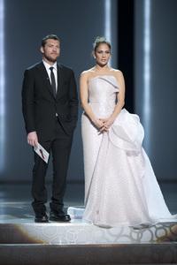 """The Academy Awards - 82nd Annual"" (Telecast)Sam Worthington, Jennifer Lopez3-7-2010Photo by Michael Yada © 2010 A.M.P.A.S. - Image 23908_0321"