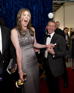 """""""The Academy Awards - 82nd Annual"""" (Backstage)Kathryn Bigelow, Adam Shankman3-7-2010Photo by Richard Harbaugh © 2010 A.M.P.A.S. - Image 23908_0362"""