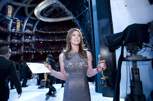 """""""The Academy Awards - 82nd Annual"""" (Backstage)Kathryn Bigelow3-7-2010Photo by Richard Harbaugh © 2010 A.M.P.A.S. - Image 23908_0365"""