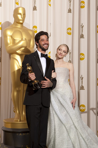 """The Academy Awards - 82nd Annual"" (Press Room)Ryan Bingham, Amanda Seyfried3-7-2010Photo by Rick Salyer © 2010 A.M.P.A.S. - Image 23908_0367"