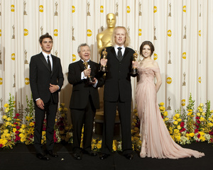 """""""The Academy Awards - 82nd Annual"""" (Press Room) Zac Efron, Ray Beckett, Paul N.J. Ottosson, Anna Kendrick 3-7-2010 Photo by Rick Salyer © 2010 A.M.P.A.S. - Image 23908_0383"""