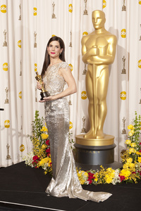 """""""The Academy Awards - 82nd Annual"""" (Press Room)Sandra Bullock3-7-2010Photo by Rick Salyer © 2010 A.M.P.A.S. - Image 23908_0390"""