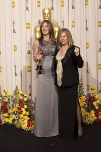 """""""The Academy Awards - 82nd Annual"""" (Press Room)Kathryn Bigelow, Barbra Streisand3-7-2010Photo by Rick Salyer © 2010 A.M.P.A.S. - Image 23908_0404"""