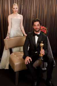"""The Academy Awards - 82nd Annual"" (Backstage)Ryan Bingham, Amanda Seyfried3-7-2010Photo by Todd Wawrychuk © 2010 A.M.P.A.S. - Image 23908_0407"