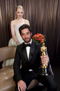 """The Academy Awards - 82nd Annual"" (Backstage)Ryan Bingham, Amanda Seyfried3-7-2010Photo by Todd Wawrychuk © 2010 A.M.P.A.S. - Image 23908_0409"
