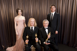 """""""The Academy Awards - 82nd Annual"""" (Backstage)Anna Kendrick, Paul N. J. Ottosson, Zac Efron3-7-2010Photo by Todd Wawrychuk © 2010 A.M.P.A.S. - Image 23908_0438"""