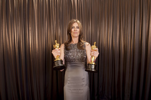 """""""The Academy Awards - 82nd Annual"""" (Backstage)Kathryn Bigelow3-7-2010Photo by Todd Wawrychuk © 2010 A.M.P.A.S. - Image 23908_0450"""