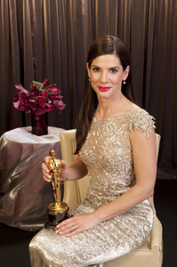 """""""The Academy Awards - 82nd Annual"""" (Backstage)Sandra Bullock3-7-2010Photo by Todd Wawrychuk © 2010 A.M.P.A.S. - Image 23908_0453"""