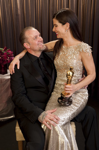 """""""The Academy Awards - 82nd Annual"""" (Backstage)Jesse James, Sandra Bullock3-7-2010Photo by Todd Wawrychuk © 2010 A.M.P.A.S. - Image 23908_0455"""