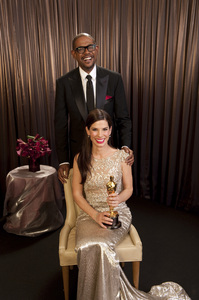 """""""The Academy Awards - 82nd Annual"""" (Backstage)Forest Whitaker, Sandra Bullock3-7-2010Photo by Todd Wawrychuk © 2010 A.M.P.A.S. - Image 23908_0456"""