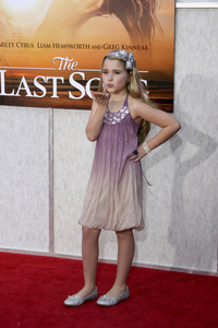 """The Last Song"" PremiereEmily Grace Reaves3-25-2010 / Arclight Theater / Hollywood CA / Touchstone Pictures / Photo by Heather Hixon - Image 23914_0071"