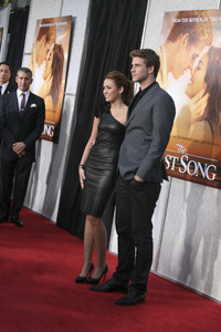 """The Last Song"" PremiereMiley Cyrus, Liam Hemsworth3-25-2010 / Arclight Theater / Hollywood CA / Touchstone Pictures / Photo by Heather Hixon - Image 23914_0147"