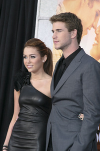 """""""The Last Song"""" PremiereMiley Cyrus, Liam Hemsworth3-25-2010 / Arclight Theater / Hollywood CA / Touchstone Pictures / Photo by Heather Hixon - Image 23914_0150"""