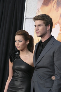 """The Last Song"" PremiereMiley Cyrus, Liam Hemsworth3-25-2010 / Arclight Theater / Hollywood CA / Touchstone Pictures / Photo by Heather Hixon - Image 23914_0151"