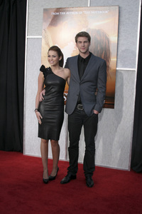 """The Last Song"" PremiereMiley Cyrus, Liam Hemsworth3-25-2010 / Arclight Theater / Hollywood CA / Touchstone Pictures / Photo by Heather Hixon - Image 23914_0155"