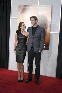 """The Last Song"" PremiereMiley Cyrus, Liam Hemsworth3-25-2010 / Arclight Theater / Hollywood CA / Touchstone Pictures / Photo by Heather Hixon - Image 23914_0156"