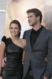 """The Last Song"" PremiereMiley Cyrus, Liam Hemsworth3-25-2010 / Arclight Theater / Hollywood CA / Touchstone Pictures / Photo by Heather Hixon - Image 23914_0157"