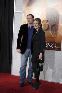 """The Last Song"" PremiereJohn Travolta, Kelly Preston3-25-2010 / Arclight Theater / Hollywood CA / Touchstone Pictures / Photo by Heather Hixon - Image 23914_0188"