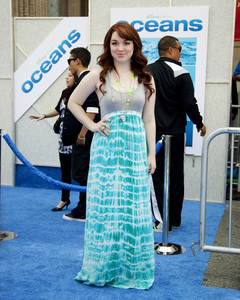 """Oceans"" PremiereJennifer Stone4-17-2010 / El Capitan Theater / Los Angeles CA / Walt Disney Studios / Photo by Annabel Park - Image 23920_0107"