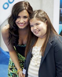 """Oceans"" PremiereDemi Lovato, Madison De La Garza4-17-2010 / El Capitan Theater / Los Angeles CA / Walt Disney Studios / Photo by Annabel Park - Image 23920_0155"
